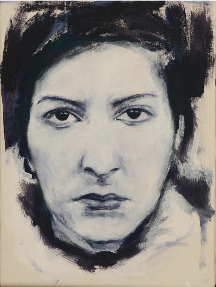 Ritratto di Marina Abramovic - 2005
